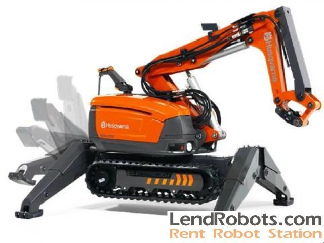 Robotic Demolition Equipment Rentals