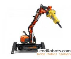 Husqvarna Demolition Robots for rent