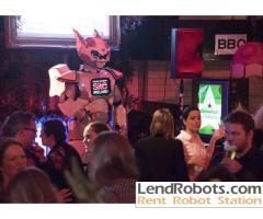Robot show in Ireland