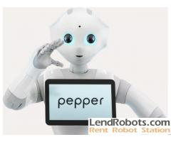 Pepper Robot Hire