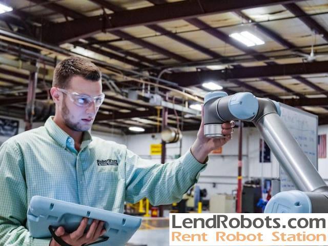 Rent robot at RobotWorx (US, Mexico, Europe, Australia)