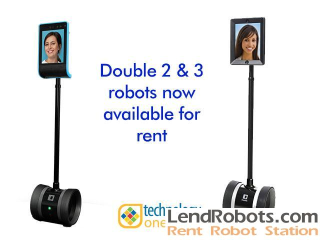 Rent A Double Robotics Robot