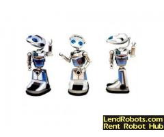 Millenia Interactive Mobile PR Robot for rent
