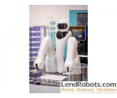 Rent a robot in Europe with a full range of services