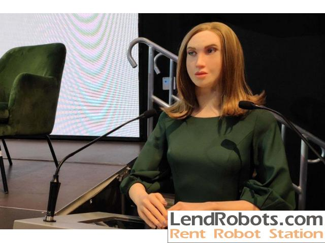 Robot for participation in your video