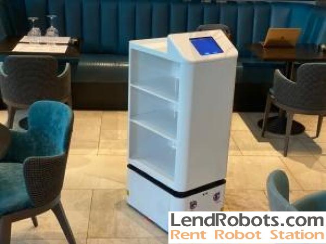 Delivery robot for rent